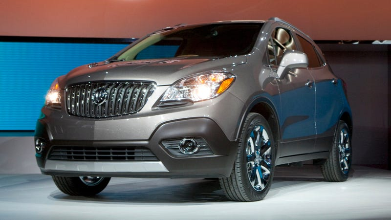 Illustration for article titled Buick Encore Will Terrify Old Folks With Smallness