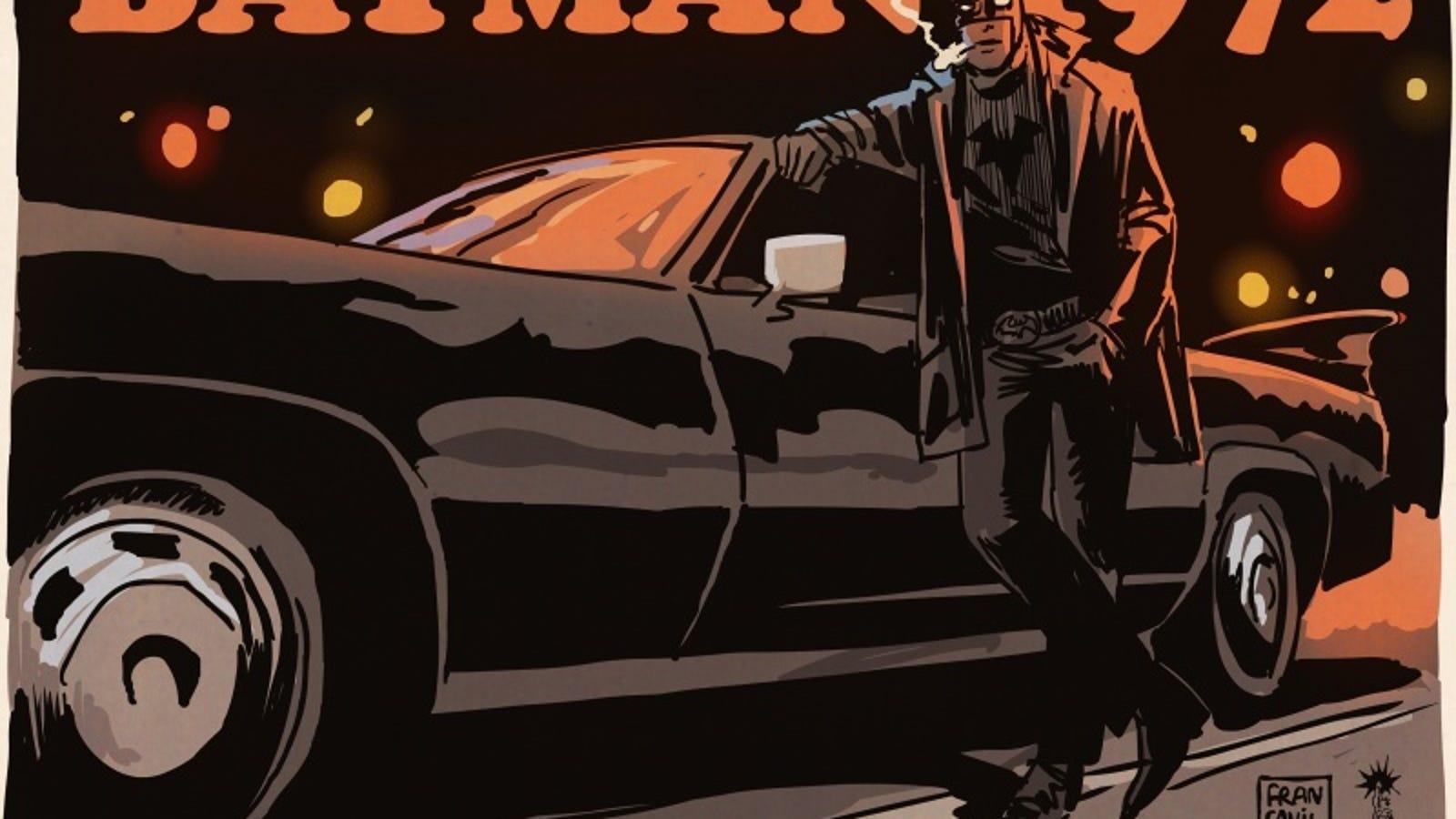 Batman reimagined as a 1970s grindhouse flick