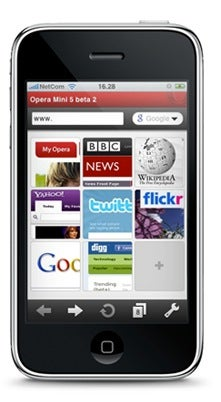 Illustration for article titled Opera Mini for iPhone Coming Soon, In Theory