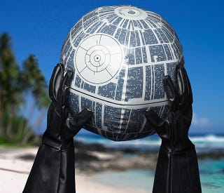 Illustration for article titled Buy This Death Star Beach Ball For the Summer