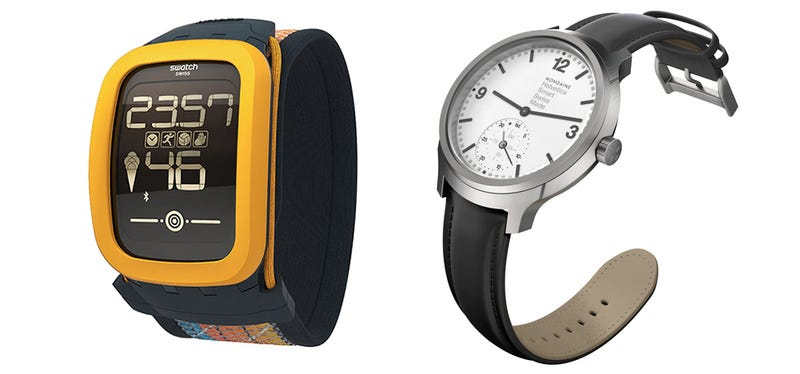 Illustration for article titled Swatch y otros fabricantes suizos se atreven al fin con los smartwatch