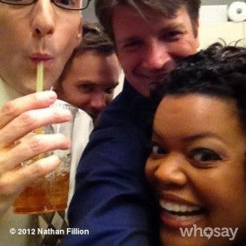 Illustration for article titled Nathan Fillion is guest starring on Community!