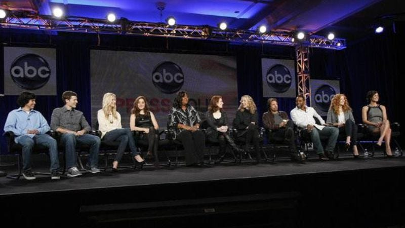 Illustration for article titled TCA press tour, day five: ABC just gives up