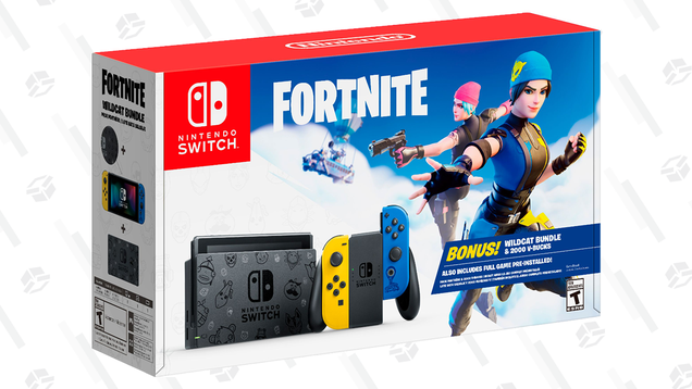 Here s Where You Can Grab a New Fortnite-Themed Nintendo Switch Bundle