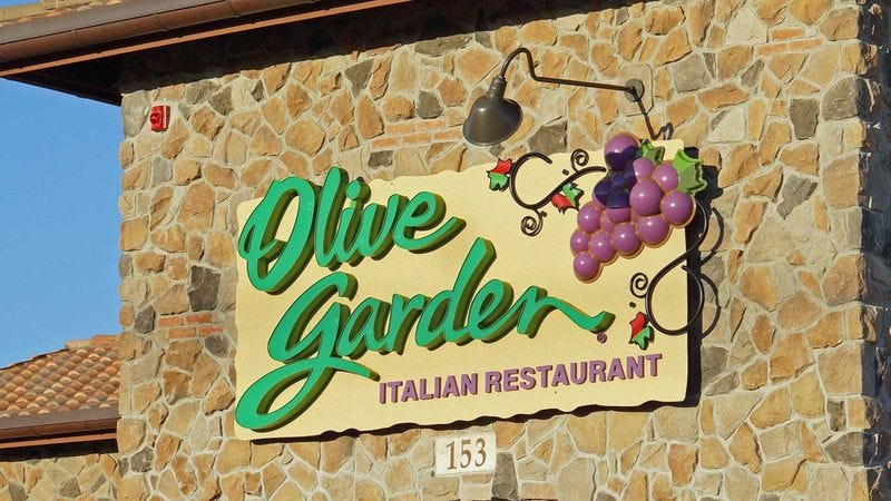 A never-ending review of a commercial for Olive Garden\'s never ...