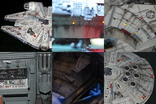 Illustration for article titled Modded Millennium Falcon Can Pass for Real Movie Prop
