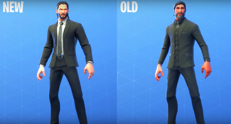 Illustration for article titled Epic's Donald Mustard Says Fortnite's Reaper Skin Isn't Keanu Reeves