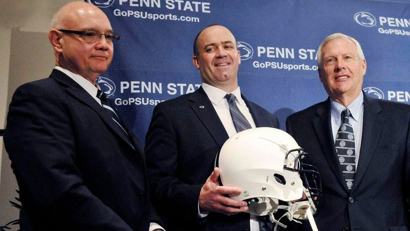 Illustration for article titled Bill O'Brien Promises To Never Uphold The Traditions And Values Penn State Now Stands For