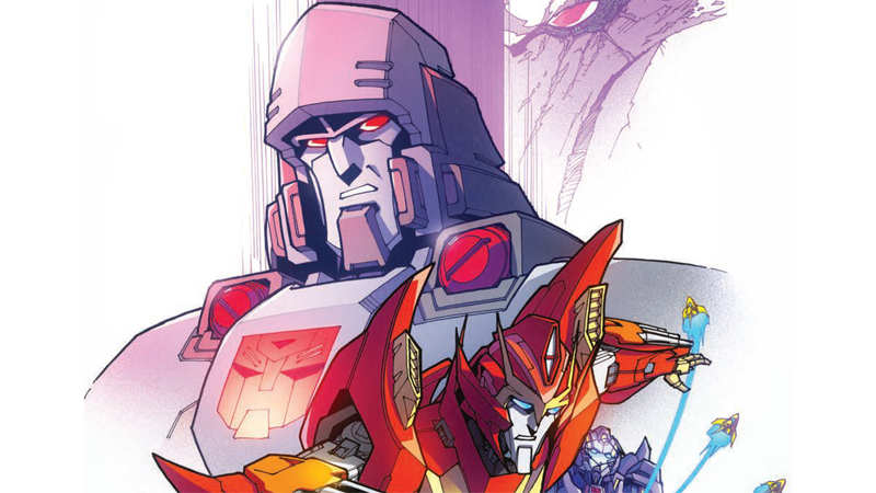 Transformers: More Than Meets The Eye #50 Cover Art by Griffith.