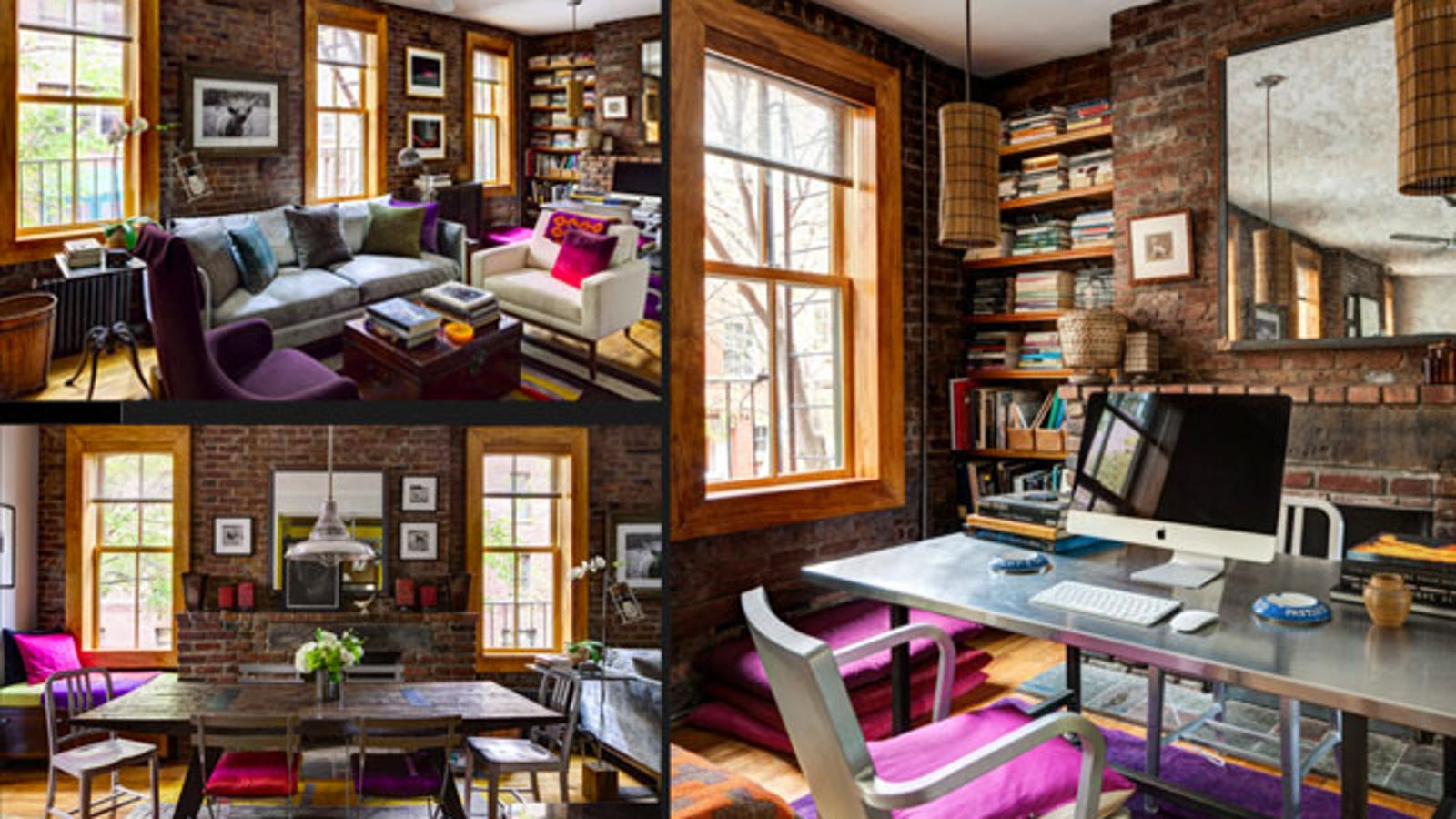 The Rustic, Richly Textured Workspace