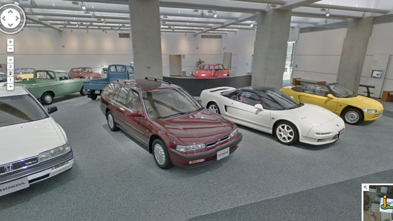 Illustration for article titled Google Street View Goes To Honda Museum, Makes World Travel Obsolete
