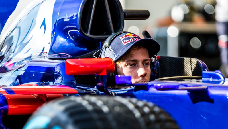 Sitting in the car yesterday is the most seat time Hartley got before Free Practice 1 today. All photos credit Kurt Bradley.