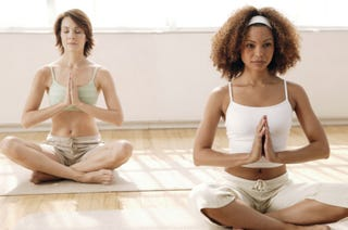 Illustration for article titled Yoga Has a Racial Divide, Says Clutch