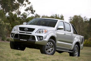 Illustration for article titled Toyota TRD HiLux Unveiled in Australia
