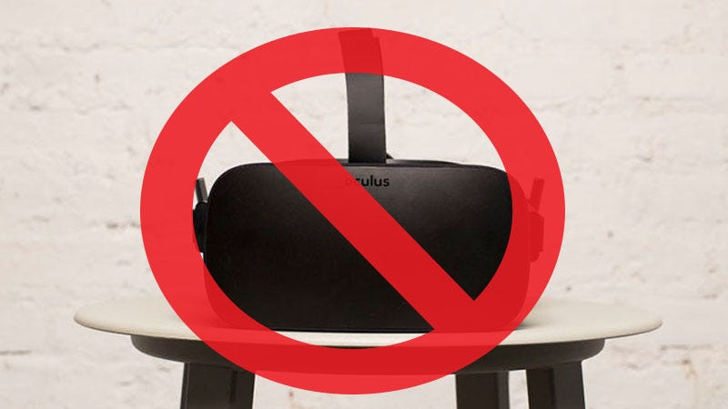 Illustration for article titled Forget The Rift, Gear VR is the Only Headset Worth Buying