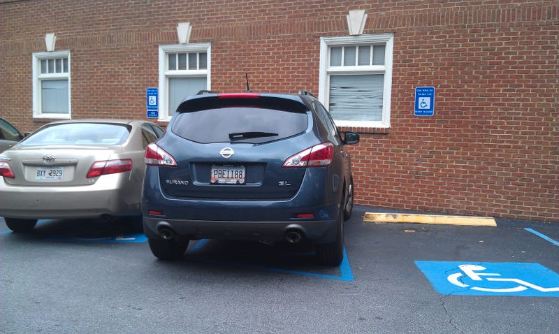 Illustration for article titled Fed up with handicap parking violators