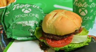 Illustration for article titled Xbox One Burgers Now Available in Hong Kong