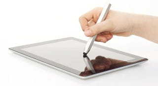 Illustration for article titled Report: Apple May Be Creating a Stylus for the Rumored iPad Pro