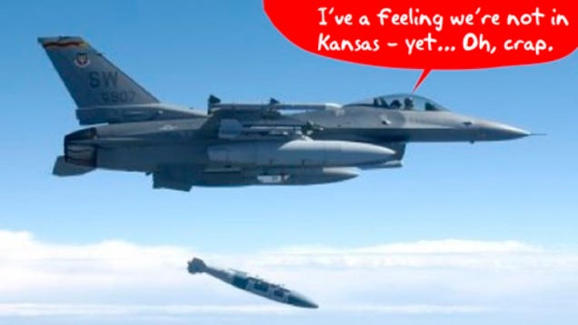 F-16 Pilot Drops Bomb on Tulsa, Accidentally