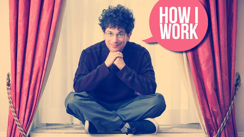 Illustration for article titled I'm James Altucher, and This Is How I Work