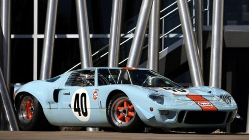 Illustration for article titled Steve McQueen's $11 Million GT40 Is The Most Expensive American Car Ever Sold
