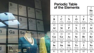 Illustration for article titled J. Crew Gets The Periodic Table Wrong