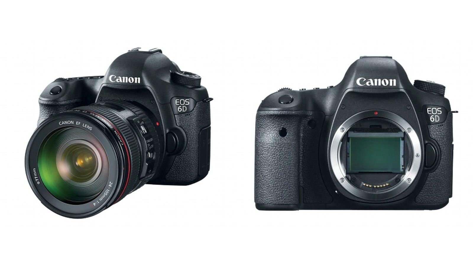 Canon Eos 6d The Cheapest Full Frame Hd Video Dslr Ever