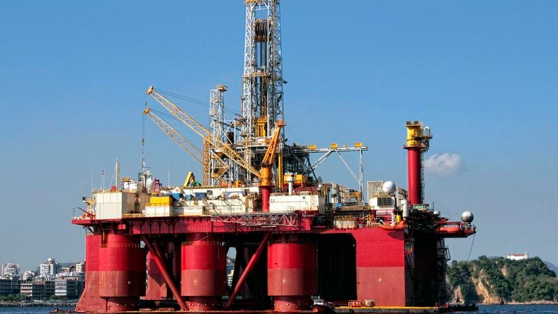 Illustration for article titled Chevron Touts Green Initiative With Hybrid-Powered Oil Drilling Platforms