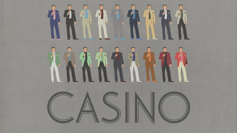 Illustration for article titled A fan-made poster captures the essence of Martin Scorsese's Casino