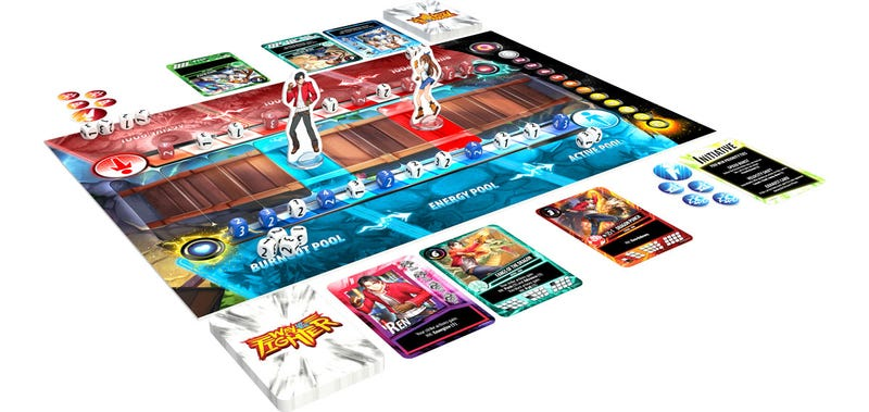 Illustration for article titled A Board Game Version Of 2D Fighting Games