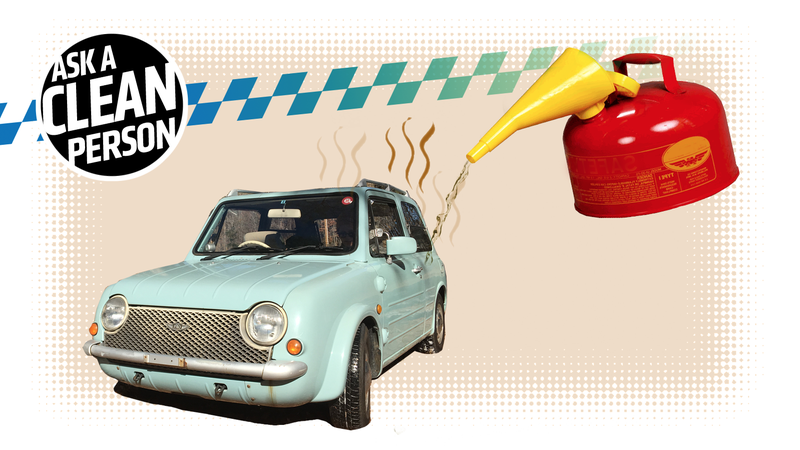 Illustration for article titled What To Do When You Spill Gas In The Car And The Smell Makes You Want To Die