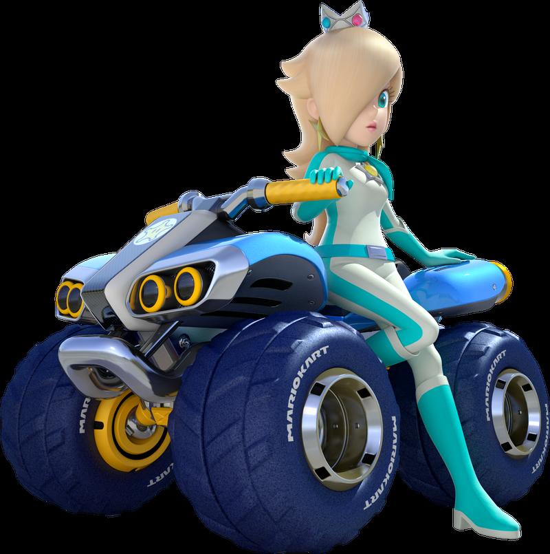 Illustration for article titled Mario Kart 8 Rosalina