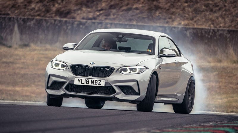 Illustration for article titled It Turns Out the BMW M2 Competition Is Just Brilliant To Drive