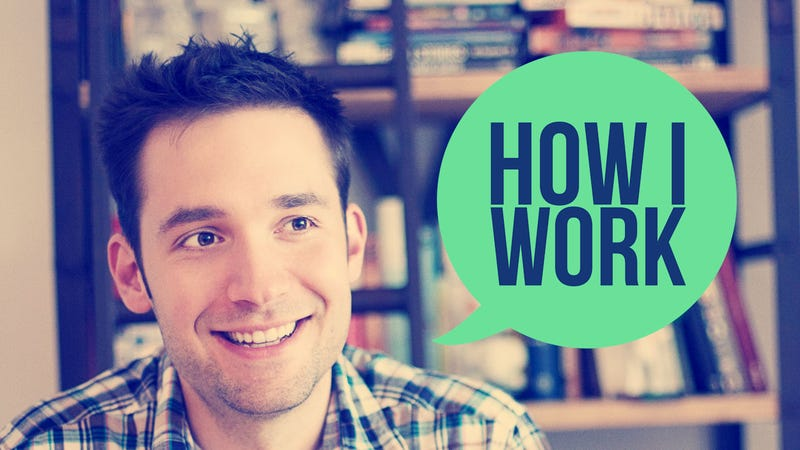 Illustration for article titled I'm Alexis Ohanian, and This Is How I Work