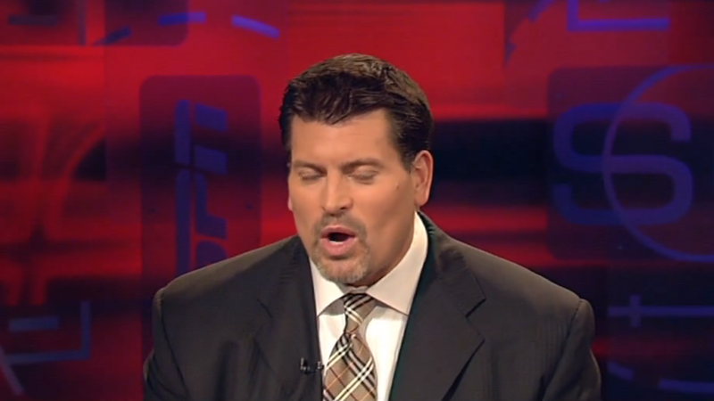 Illustration for article titled Rumor We Wish Were True But Isn't: Mark Schlereth Pisses On Towels In An ESPN Closet