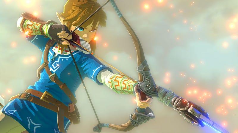 Illustration for article titled The Legend of Zelda: Breath of the Wild es el próximo juego estrella de Nintendo