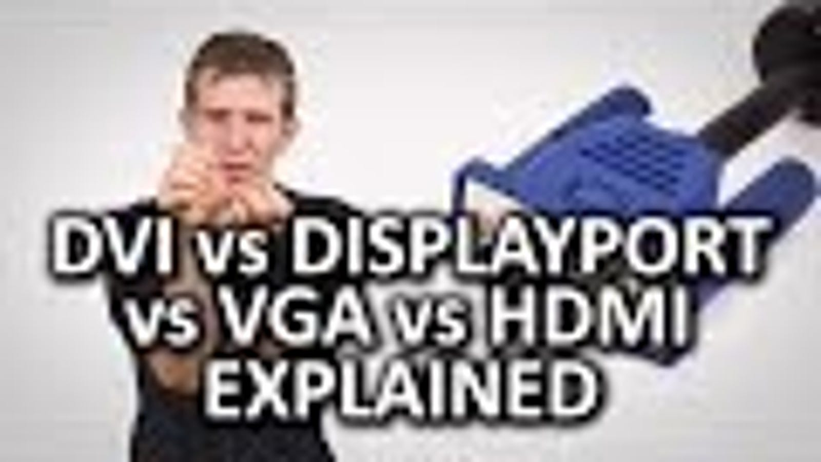 This Video Explains the Pros and Cons of Different Display