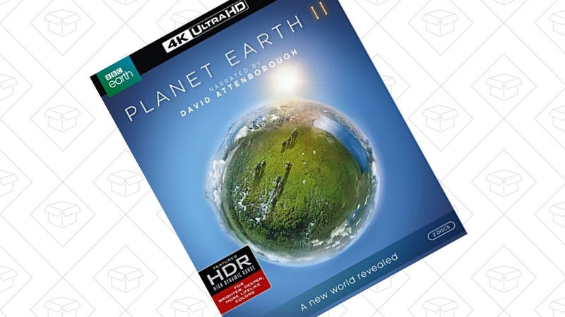 Planet Earth II, 4K Blu-ray | $30 | Amazon