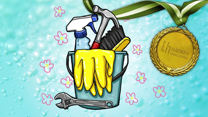 Illustration for article titled Hacker Challenge: Share Your Best Spring Cleaning Hack