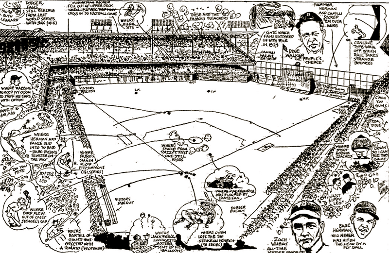 Illustration for article titled Gene Mack's Stadium Illustrations