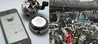 Illustration for article titled This GPS-Enabled Bike Bell Rings To Help You Find Your Ride
