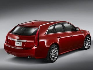 """Illustration for article titled Cadillac """"Re-Analyzing"""" CTS-V SportWagon"""