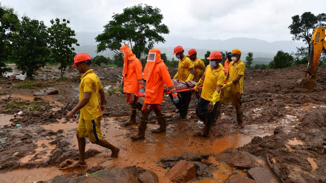 More Than 130 People Dead in India After Monsoon Rains Lead to Flooding and Landslides