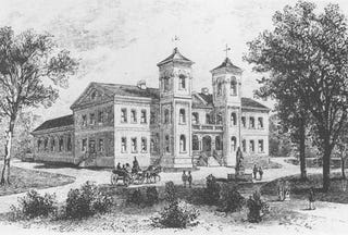 College of William and Mary circa 1790s (Google)