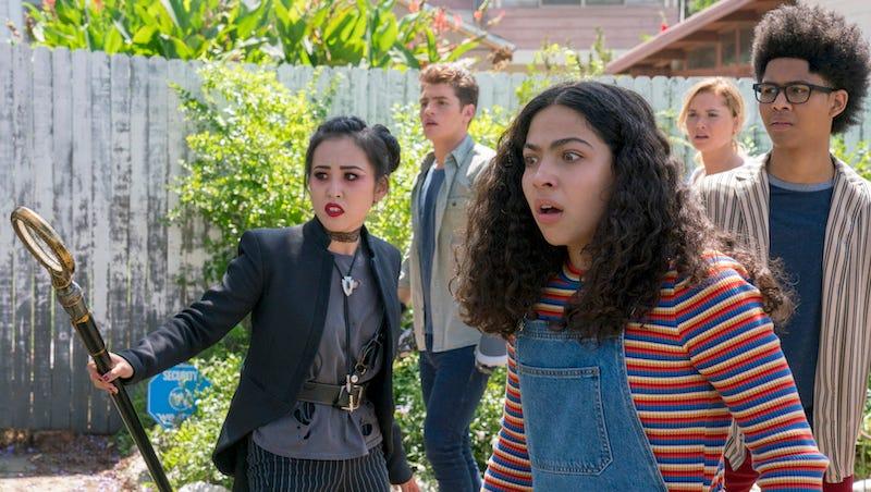 Nico, Chase, Molly, Karolina, and Alex stumbling upon something unexpected.