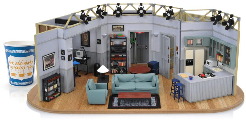 Illustration for article titled For $400 You Can Own a Flawlessly Detailed Tiny Replica of Seinfeld's Apartment