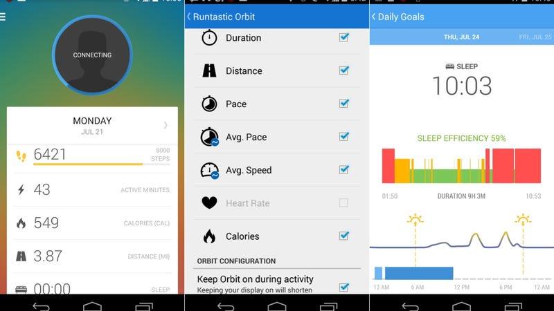 Runtastic Orbit HandsOn A Fitness Tracker With A Few New Tricks - Orbit tracker