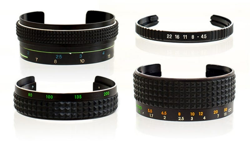 Illustration for article titled Dead Camera Lenses Can Morph Into Beautiful Bracelets