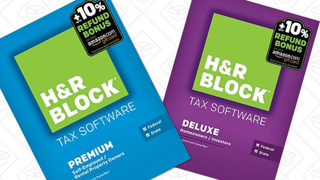 Amazons slashing prices on hr block tax software today only if you still havent gotten around to doing your taxes youve got a big advantage over the early birds huge discounts on hr block tax filing software fandeluxe Image collections