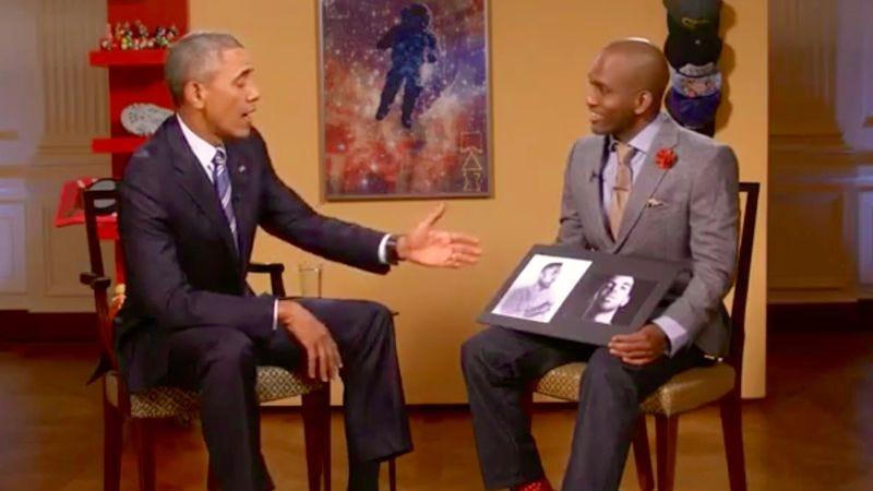Illustration for article titled Obama ends the Kendrick vs. Drake feud, declares Kendrick the better rapper